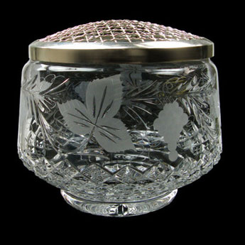 8 inch Straight Sided Rose Bowl Grapevine