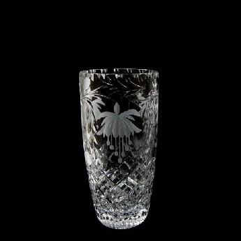 7 inch Barrel Vase Fuchsia