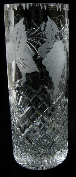 12 inch Cylinder Vase Grapevine