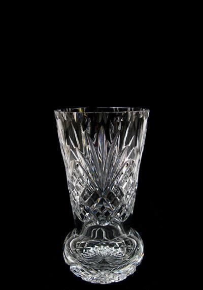 7 inch Sweet Pea Crystal Vase Westminster