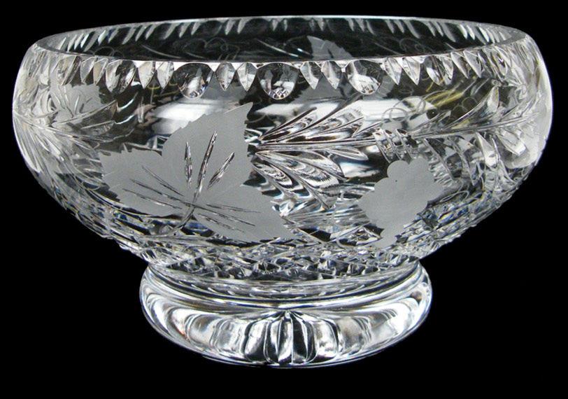 9 inch Plinth Bowl Grapevine