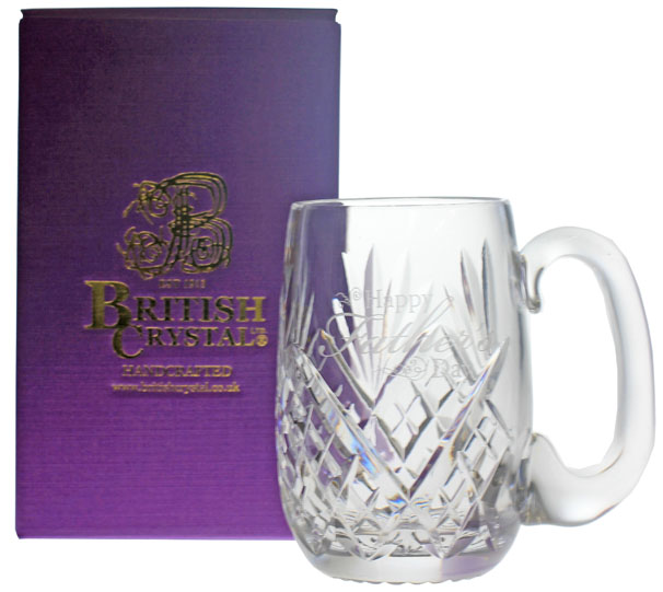 1 Pint Straight Sided Westminster Tankard Happy Fathers Day