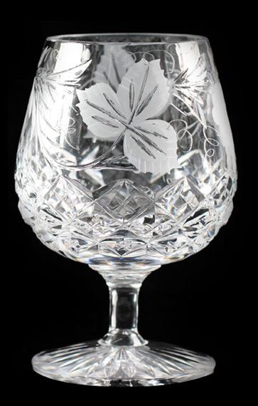 Grapevine 12oz Brandy Glass