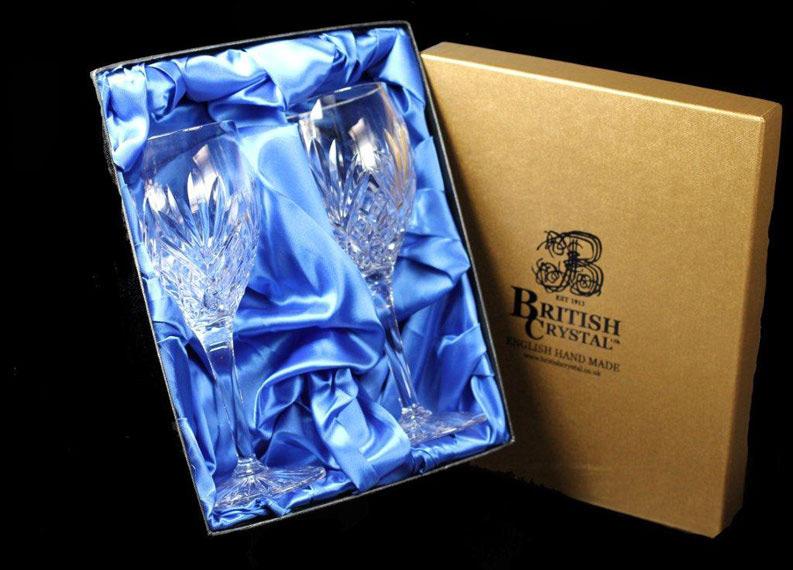 Presentation Box of 2 Westminster Goblets