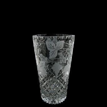 6 inch Con Vase Grapevine