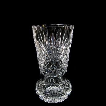 9 inch Sweet Pea Crystal Vase Westminster