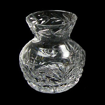 Westminster 4 inch Straight Sided Thistle Vase