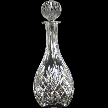 Westminster Round Tall Neck 3/4 Litre Decanter