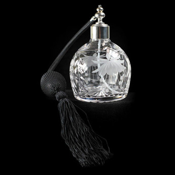 Oval Perfume Bottle Fuchsia