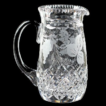 3 Pint Slim Pitcher Jug Grapevine
