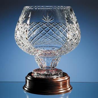27cm Lead Crystal Ambassador Vase