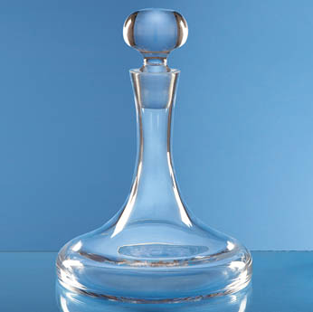 0.75ltr Handmade Plain Ships Decanter
