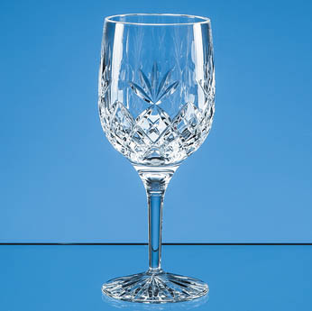 280ml Blenheim Lead Crystal Full Cut Goblet