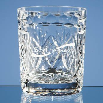 Shire Crystal Panel Whisky Tumbler