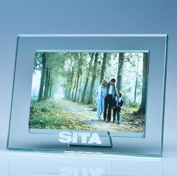 Jade Glass Photo Frame for 6