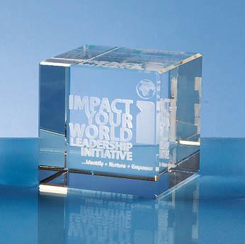 6cm Optical Crystal Cube*