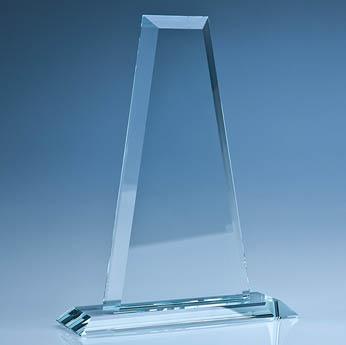 25.5cm CrystalEdge Clear Tower Award
